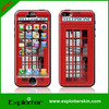 epoxy mobile skin,for iphone5 cover,cover skin