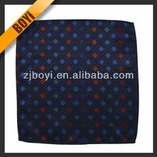 Fashion Design Woven Handkerchief For Men