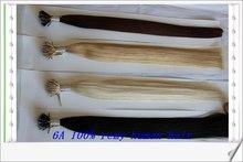 2014 new product 6A Quality 1g/strand 14''-30'' Nano Ring Hair Extension No tangle no shedding 100% brazilian remy human hair