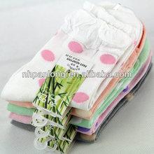 dots pattern bamboo fiber sock