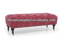 moroccan leather pouf ottoman footstool HDOT035