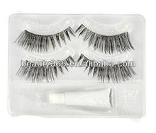 Fashion Makeup False eyelash extension wholesale kit Long Lashes+ Eyelash Glue