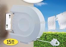 outdoor clothes hanger dryer, retractable clothesline