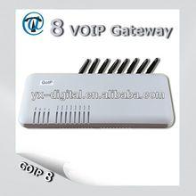 GSM GATEWAY!8 ports gsm gateway,voip gsm gateway,3g gateway/free sim server software