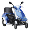 500w four wheeled scooter electric with comfortable seat for old people with cover