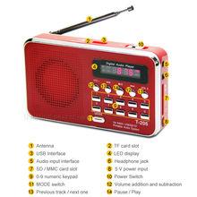 mini FM radio speaker,newest gift fm radio with usb/sd player