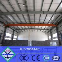 electric single beam underslung overhead crane workshop equipment