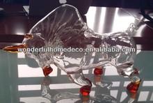 bull glass bottle/750ml glass wine bottles wholesale/glass spirit bottles