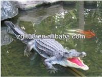Life Size Crocodile Garden Statue Crocodile Mechanic Crocodile