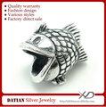 xd km273 factory direct vente en argent 925 perles en forme de poisson
