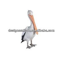 Collectible Resin Garden Pelican Statues