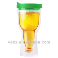 BPA free unique personalized plastic beer mugs