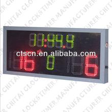 Metal Frame Double Color LED Football Scoreboard