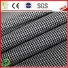 Yarn dyed mini plaid dri fit fabric