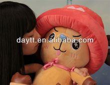 Big girl toys stuffed animals one piece chopper plush toys hyt0488