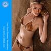 2014 Sexy girls pictures serpentine Monaco photo sex animal and women sex girl bikini with golden enameled hardware