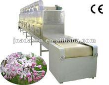 Flower tea/herbs microwave dryer machine