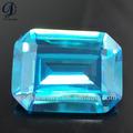 Mestery boa qualidade criado lab aquamarine pedra gemstone