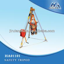 Confined Space Tripod Kit,ManHandler Hoist Winch,Safety equipment,Stainless steel lifeline