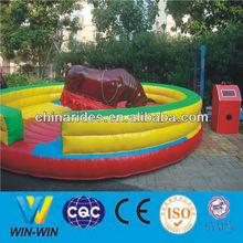 2014 new type animal amusement rides bull riding machine for theme park