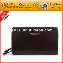 Executive Men Natural Leather Clutch Bag
