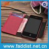 Hot New Products for 2014 Wallet Case for iphone 4 4s