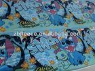100% polyester antipilling/not antipilling snoopy printed polar fleece fabric