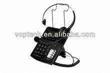 New call center IP Phone,asterisk voip gateway ,RJ9 headset,3 SIP lines/IAX2