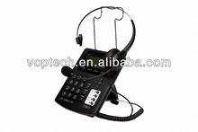 New call center IP Phone,iax ip phone ,RJ9 headset,3 SIP lines/IAX2