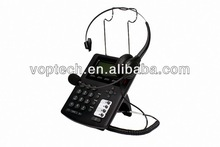New call center IP Phone,hd ip telephone ,RJ9 headset,3 SIP lines/IAX2