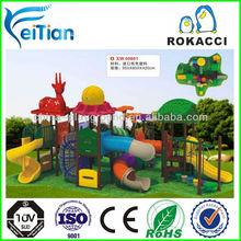 Kids outdoor plastic big slides for sale