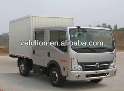 Dongfeng 4*2 Van Cargo truck double cabin