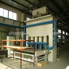 Good quality low loss melamine mdf laminating machines