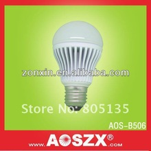 AOSZX Brand High Quality 3Year warranty smd 550 LM 230VAC 5W Light Bulbs