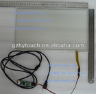 USB connector resistive touch screen with ratio 16:9