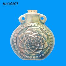 Beautiful lotus novelty glazed Bottle Pendant