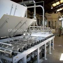 New style efficiency mdf laminating machinery