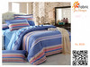 BS20 100% cotton red white and blue striped printing fabric for bedding set