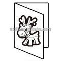 hecho en china difusa para adultos de impresión de tarjetas de felicitación