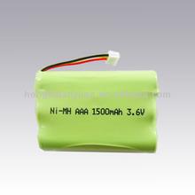 Rechargeable 1500mah nimh battery aaa
