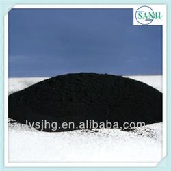 Pyrolysis carbon black coal