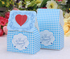 2014 wedding flower sweet lace wrapping delicate chocolate&candy box