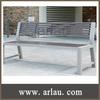 patio furniture wooden rustic bench (Arlau FW203)