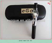 glass globe vaporizer kit with glass v8 bulb wax atomizer