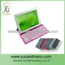 Slim Bluetooth 3.0 Wireless Keyboard Keypad Aluminium Case Cover for iPad Mini Tablet
