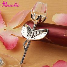 A80530 Wholesale Rose Crystal Custom Wedding Give Aways