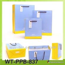 WT-PPB-837 Professional famous brand paper bag