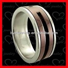 High quality rings rose gold wedding jewelry titanium jewelry