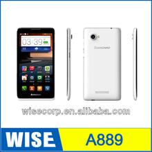Original New Lenovo A889 Quad Core Phone 6 inch MTK6582M Android 4.2 GPS 1GB 8GB