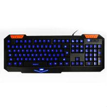 2014 new product LED backlight gaming laser keyboard laptop spanish